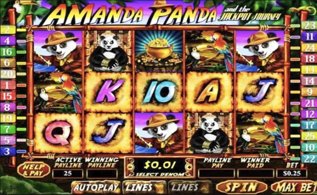 Amanda Panda And The Jackpot Journey Online Video Slot