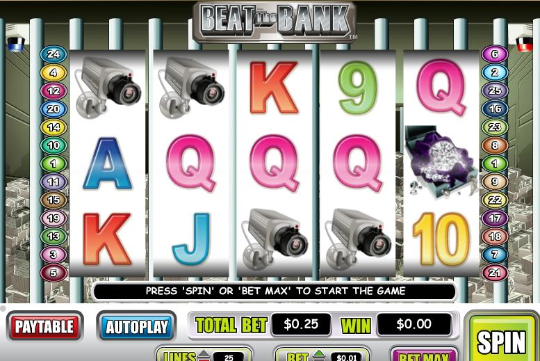 Beat The Bank Online Video Slot
