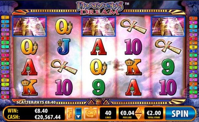 Pharaohs Dream Online Video Slot