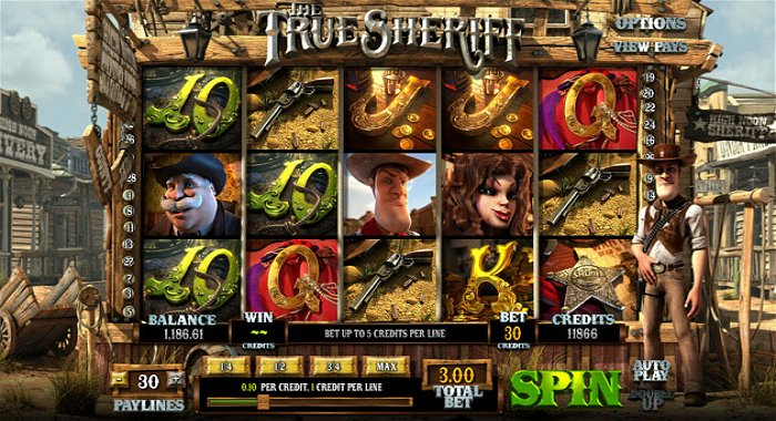 The True Sheriff Online Video Slot