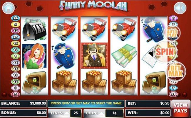 Funny Moolah Online Video Slot