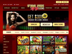 Grand Vegas Online Casino Review