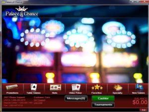 Palace Of Chance Online Casino Review