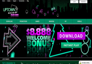 Uptown Aces Casino_Homepage