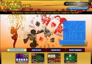 Vegas Country Casino_HomePage