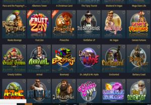 Vegas Crest Casino_Game Lobby