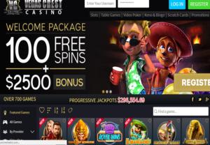 Vegas Crest Casino_Homepage