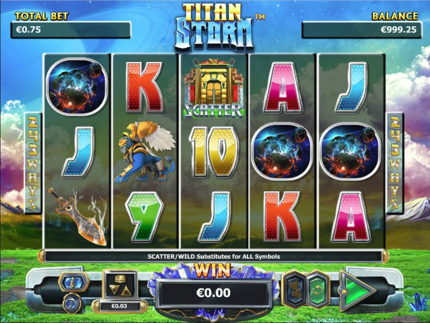 Titan Storm Online Video Slot