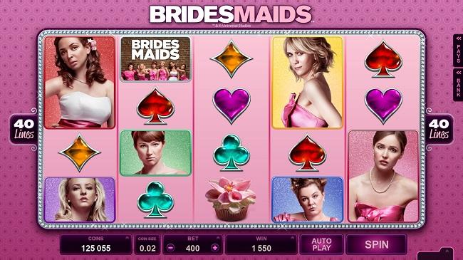 Bridesmaids Online Video Slot