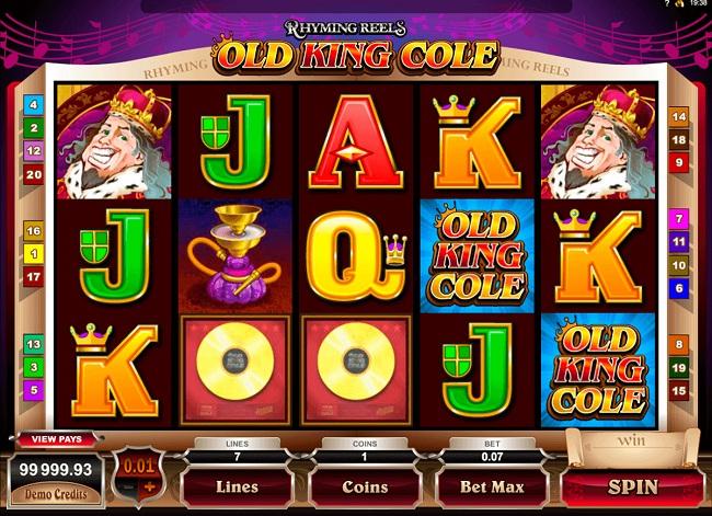 Old King Cole Online Video Slot