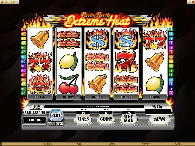 Retro Reels - Extreme Heat Online Video Slot