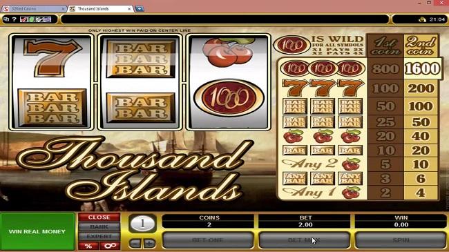 Thousand Islands Online Video Slot