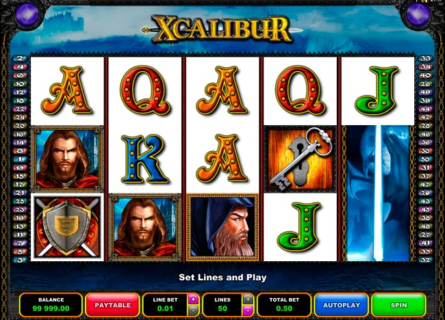 Xcalibur Online Video Slot