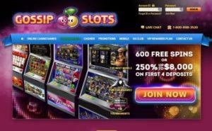 Gossip Slots Online Casino Review