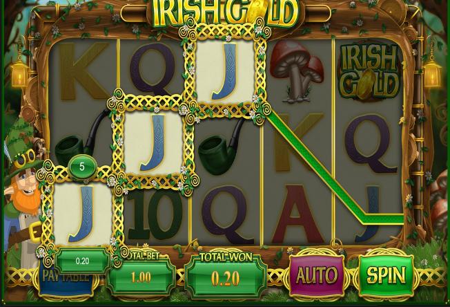Irish Gold Online Video Slot Casino Bonus Streak Online Casino